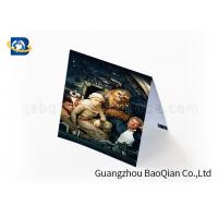 Cheap Gift Lenticular Greeting Cards Beautiful Picture 4 Color 3D UV Printing for sale