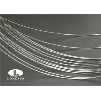 China Electrical 99.99 Pure Silver Wire Internal Oxidation For Contacts And Solid Rivets on sale