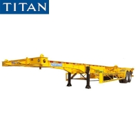 Cheap Multi Function Skeletal Trailer 40ft Container Chassis for Sale for sale