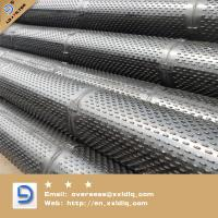 Cheap Stainless steel Bridge slotted screen pipe and Control screen for sale