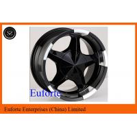 Buy cheap 17inch 5 x 150 off road wheels 17 x 8 / 8J x 17 Black SUV Wheels For Toyota Tundra  Sequoia from wholesalers
