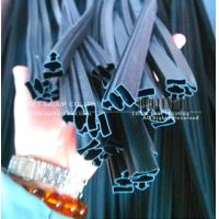 Cheap flexible PVC extrusion seal with strong magnetic strips for sale