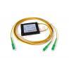 Buy cheap Cassette Type Optical Fiber Splitter , Single / Dual Window FBT Fused 1x2 from wholesalers