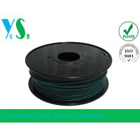 Cheap Professional 1.75mm Green PLA 3D Printer Filament YouSu For Makerbot for sale