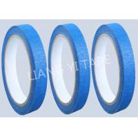 Cheap Blue Heat Resistance Paper Masking Tape For Masking Surface During Painting for sale