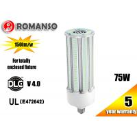 Cheap 75w Corn Led Lights 5000K / Indoor Led Warehouse Lighting For 250w HPS Repalcement for sale