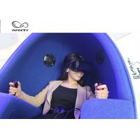 Cheap Funny Experience 9D VR Cinema / Electricity Platform 9D Motion Chair for sale