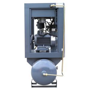 China Motor Power 11kw  Type of tank mounted Screw Air Compressor Portable Screw Air Compressor on sale