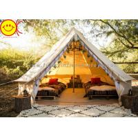 Cheap Multifunctional Outdoor Canvas Inflatable Tent 4m 5m Saraha Camping Tipi Tent for sale
