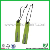 Buy cheap Paper Printed Small Handtag For Garment , Hard Custom Card Printing from Wholesalers