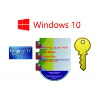 Buy cheap Original Ms Win 10 Pro Korean Lifetime Legal Using 1 Year Stock Warranty Online Activation from wholesalers