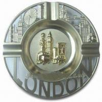 Cheap Promotional London Ashtray, Made of Alloy, Available in Various Sizes for sale