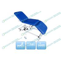 Cheap Foldable Medical Examination Couch with Gas Spring , gynecological exam table for sale