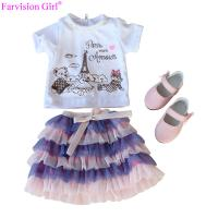 Cheap Wholesale doll cloth toy accessories for girl doll baby dress girl colorful cloth set for sale