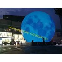 Cheap inflatable moon for mid autumn festival for sale