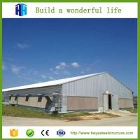 Cheap Low cost construction design two story steel structure warehouse for sale