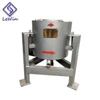 Cheap Vertical Centrifugal Coconut Oil Filtering Equipment 40 - 50kg / Batch Capacity for sale
