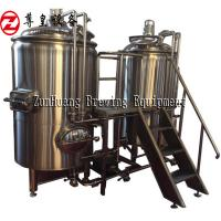 Cheap 500L Beer Production Line , Stainless Steel All In One Beer Brewing System For Craft Beer for sale