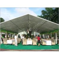 Cheap 100 Seater Temporary Outdoor Garden Party Canopy Tent Open Gable Sunshade Construction wholesale