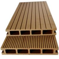 China wood plastic composite decking above ground pool  solid composite decking on sale