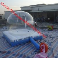 Cheap camping inflatable clear tent for sale