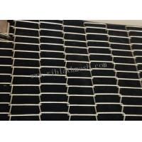 Cheap 5mm Crimped Decorative Wire Mesh Panels For Cabinet Doors Twill Weave Style for sale