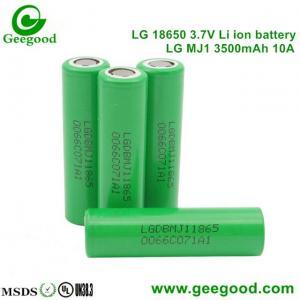 Cheap 2016 Hot sale battery 18650 LG MJ11 3500mah 10A/5C High capacity high power battery for sale