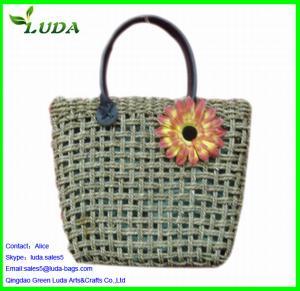 Cheap Summer Straw Beach Bag sets for sale