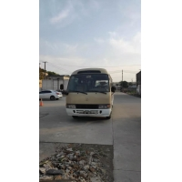 China mini toyota coaster bus in shanghai china ,diesel /gas/gasoline engine bus for sale with 30 seats on sale