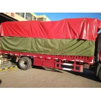 Cheap Customized 750gsm PVC Truck Cover , Waterproof Truck Cover 1000D X 1000D for sale