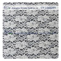 Cheap Thick Brushed Bridal Lace Cotton Nylon Fabric For Lady Winter Dress for sale