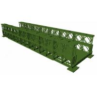 Cheap Ot Dip Galvanized Green Temporary Bailey Bridge Q345B-Q460 Grade Steel for sale