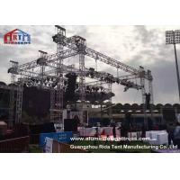 Non Rust Aluminum Light Truss , Sqaure / Triangle Theatre Lighting Truss Kit