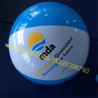 Cheap logo printing beach ball for sale
