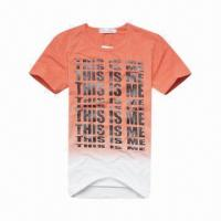 China Promotional Compressed T-shirt, printed, magic on sale