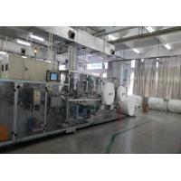 High Speed Wet Wipes Production Line Full Servo Driving Longer Knife Service Time