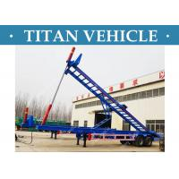 Cheap 2 Axle Container Tipper Trailer , 40 Ft Skeleton Container dump Trailer for sale
