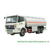 Cheap FOTON 6x4 Refueling Diesel Fuel Transfer Tank Truck 23CBM Capacity High Stable for sale