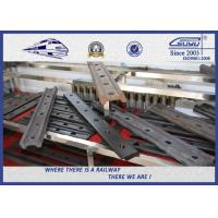 Buy cheap High performance light fish plate rail joint bar for rail track from wholesalers
