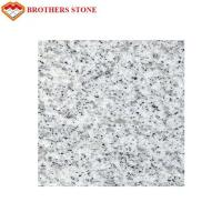 China Custom Size Sesame White Granite Stone Tiles 0.28% Water Absorption on sale