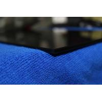 China 5MM black crystal tempered glass for furniture on sale
