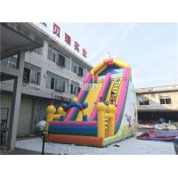 Cheap PVC Commercial Inflatable Slide / Custom Design Inflatable Dry Slide Playground for sale