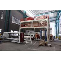 Buy cheap 4200mm Wide PP Non Woven Fabric Machine , PP Spunbond Non Woven Production Line from wholesalers