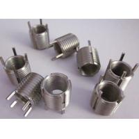 Cheap brass keenserts for screw thread repairing in weaker materials for sale