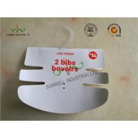 Cheap Baby Clothing Hang Tags 350G Paper Hanger Card With 2 Color Printing wholesale