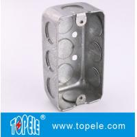 TOPELE Steel Rectangular Switch Handy Box with Single Gang , 58351, 1-7/8