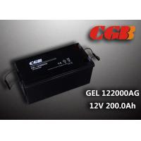 Cheap Reliable safe 200AH GEL Series 12V Lead Acid Battery Rechargeable No leaking wholesale