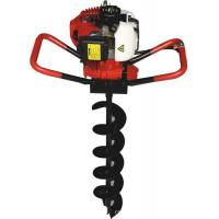 Petrol gas post hole digger auger garden tools for for Power garden digging tools