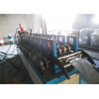 Cheap Galvanized Steel  Shutter Roll Forming Machine , GCR15 Roller Shatter Making Machine for sale