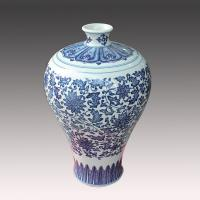Cheap jingdezhen antique blue and white ceramic porcelain vase for cheap wholesale for sale